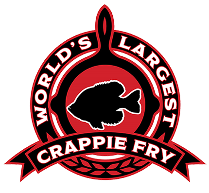 World's Largest Crappie Fry Logo