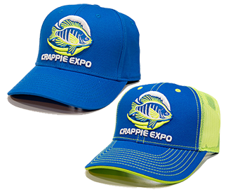 Crappie Expo Embroidered Cap